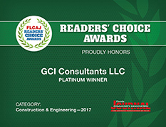GCI Consultants - Readers Choice Award 2017
