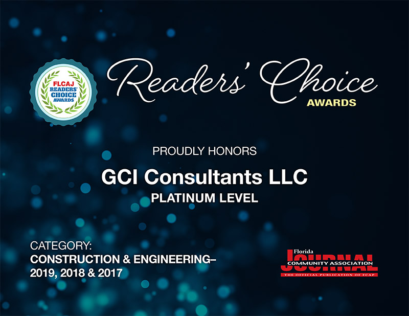 GCI Wins Readers Choice Awards 3 Years in a Row!